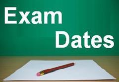 Summer assessment/exam calendar 2020